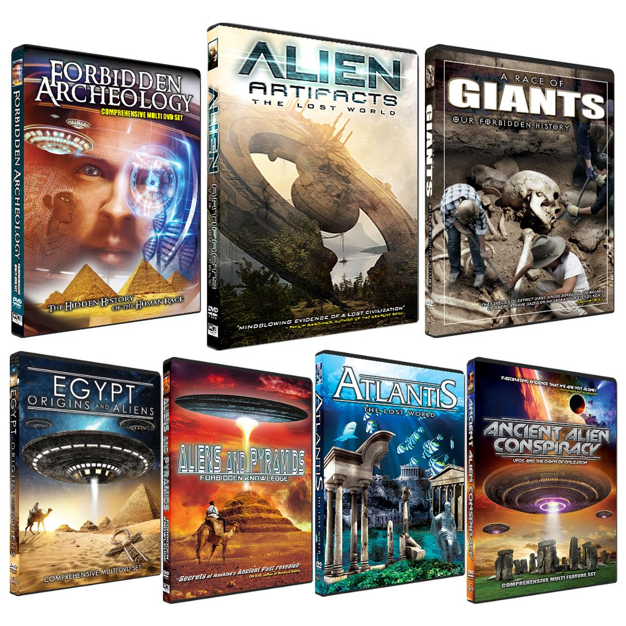 Alien Artifacts- The ULTIMATE Forbidden Knowledge Set!